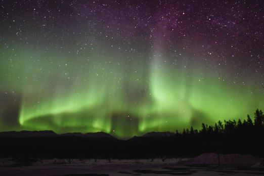 Yellowknife Northern Lights Best Time See